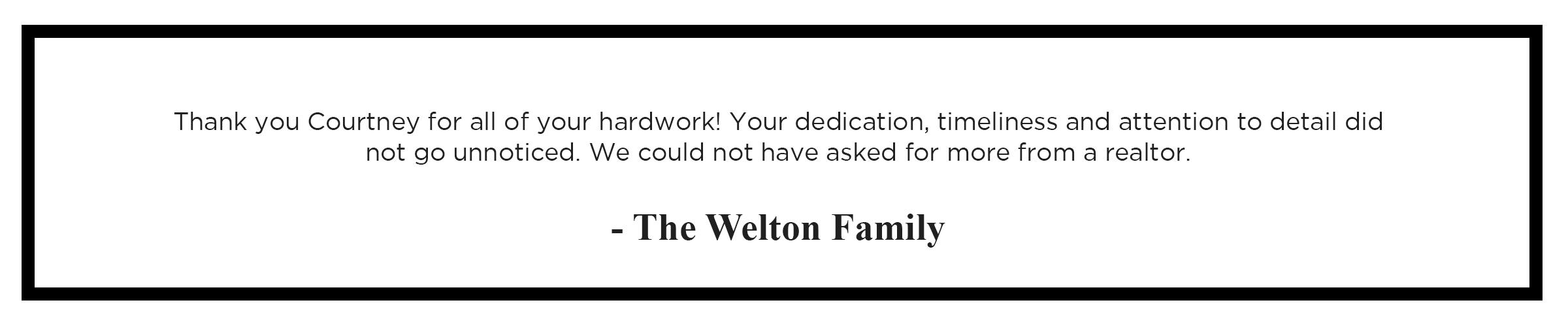 02 - the welton family